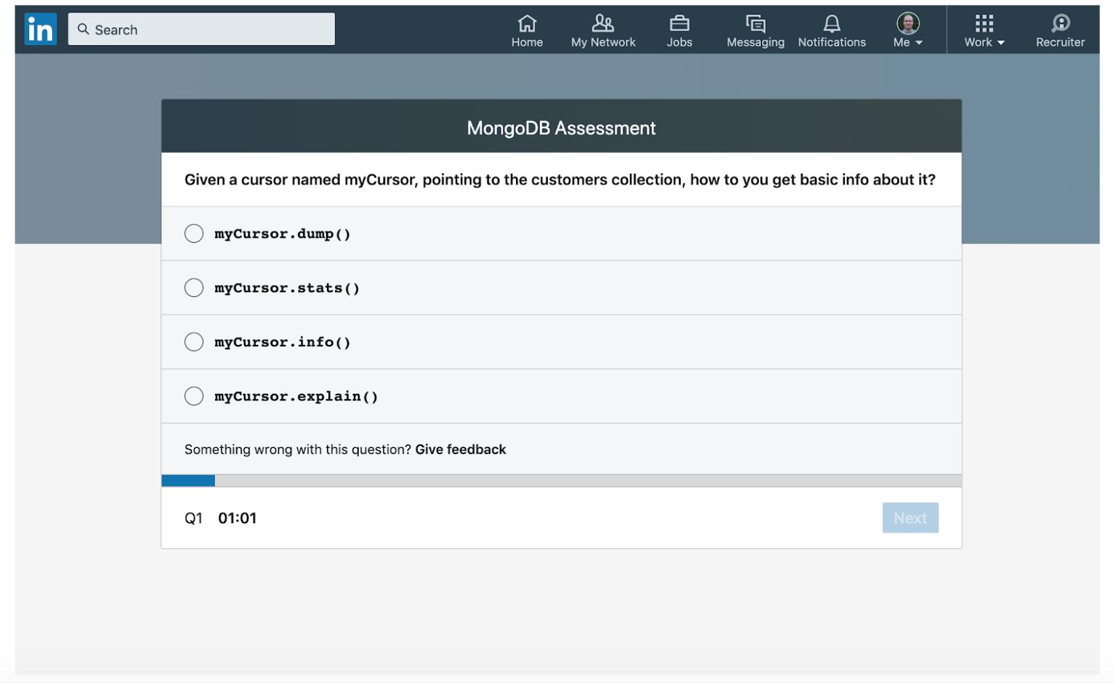 MongoDB-Assessment