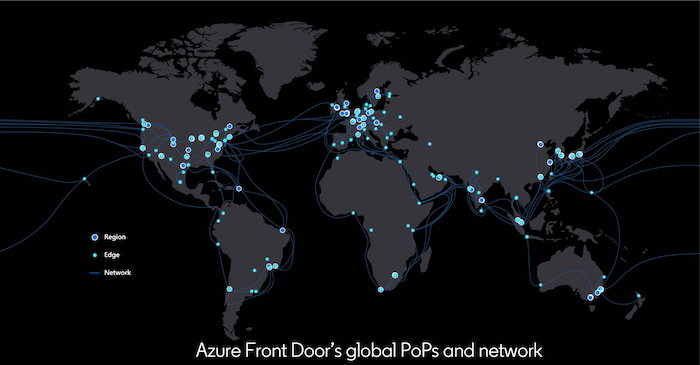 global-map-showing-azure-front-doors-points-of-presence-footprint