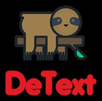 detext-sloth-logo