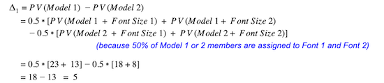 formula-comparing-estimated-effects-of-model-one-versus-model-two