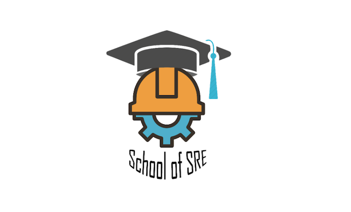 school-of-sre-logo-showing-a-gear-with-a-graduation-cap