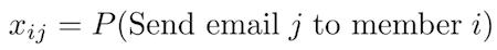 x-sub-i-times-j-equals-p-parenthesis-send-email-j-to-member-i-parenthesis
