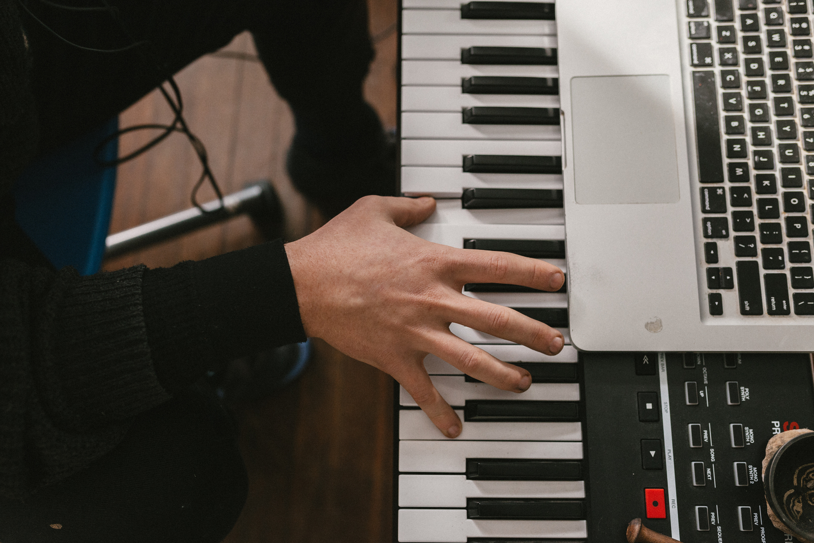 Piano Garage Band : How to create your own click track in garageband