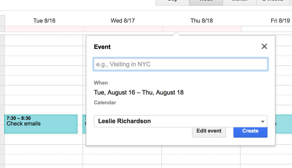Google Calendar Year View : Five must know google calendar tips