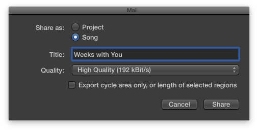 Export Your Song: How to Share GarageBand Files