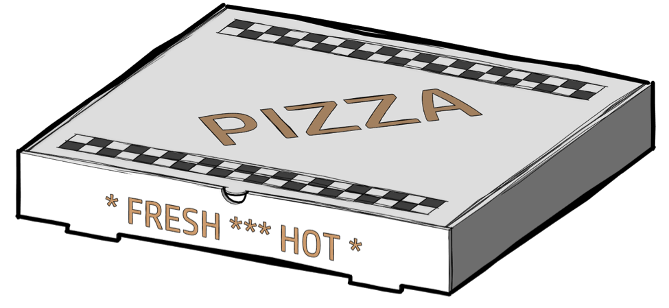 If you want to know design, start with a pizza box.