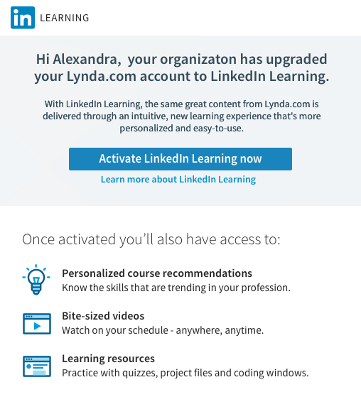 Connecting Your Account to LinkedIn