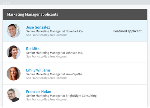 Featured Applicant