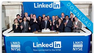 LinkedIn at the NYSE