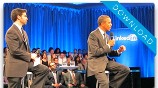 LinkedIn Town Hall with the White House Sept. 2011