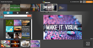 how to create a slideshare deck