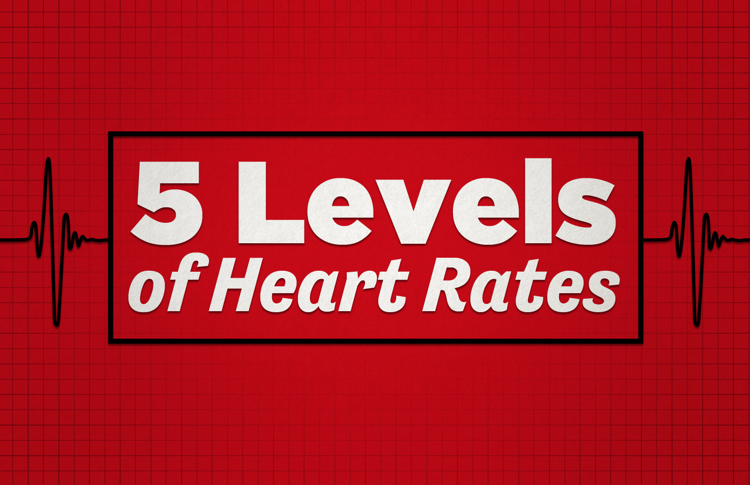 5-levels-of-heart-rates