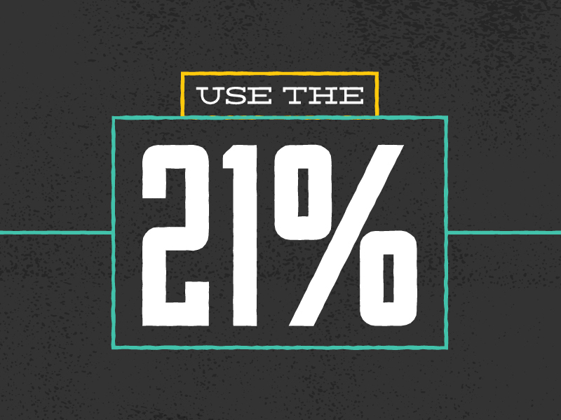 use-the-21percent