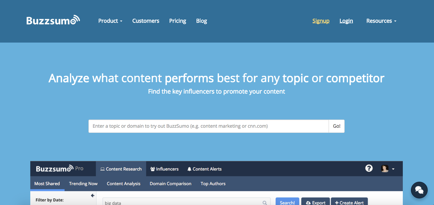 15 research tools and resources for presentations buzzsumo