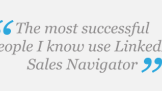 Sales Navigator Customer Quotes