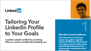 Tailoring Your Profile to Your Goals