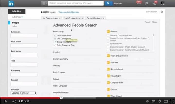 Advanced Search Tips: Video