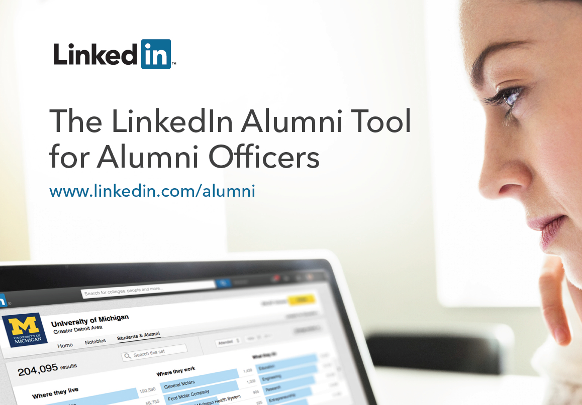 Alumni Tool for Alumni Officers
