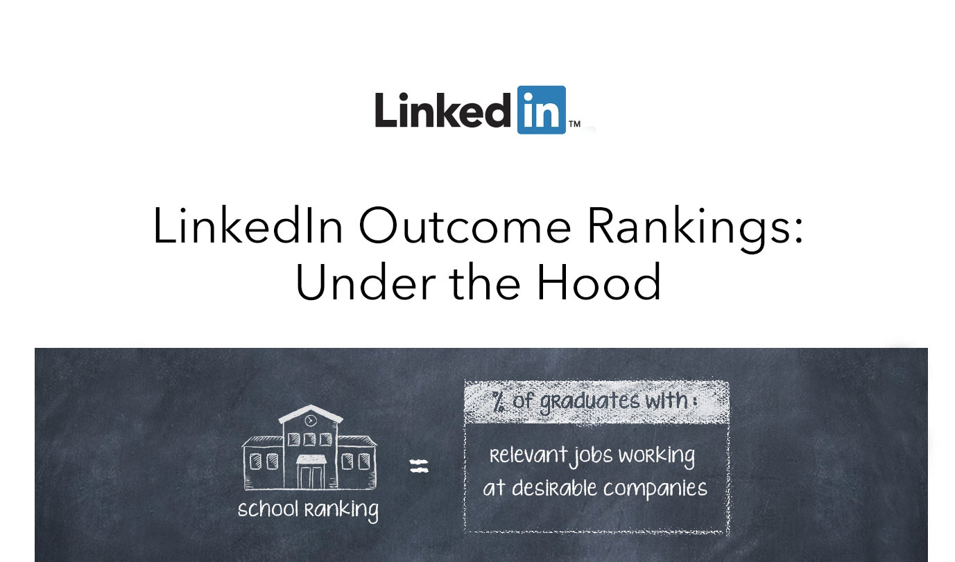 LinkedIn University Rankings: Under the Hood