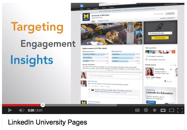 University Pages: Video Tour