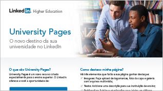 University Pages: One-Page Overview (Portuguese)