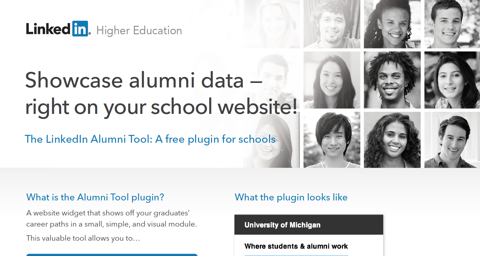Alumni Tool Plugin: One-Page Overview